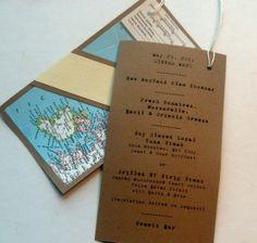 Louisville Wedding Blog - The Local Louisville KY wedding resource: {Daily Wedding Bits} Trendspotting - Mouthwatering Menu Designs