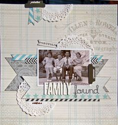 Family Found *Scraptastic November+ - Scrapbook.com