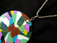 laura bijoux polymer clay handmade pendant