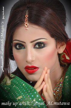 Makeup by Amal ALmutawa
