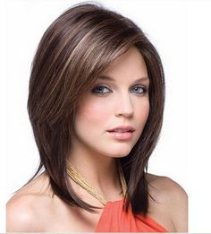 LMSW51 short brown mix blond fashion hair wigs for modern women hair wig #Unbranded