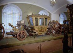 Four Person Carriage   France; Paris   1721   oak, velvet, bronze, iron   Kremlin State Historical Museum