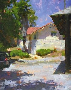 Jennifer McChristian  'Haven'  10 x 8 Oil on Canvas