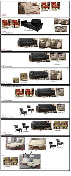 Affordable living room options