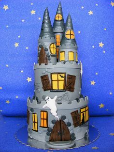 Spooky castle cake | Flickr - Photo Sharing!
