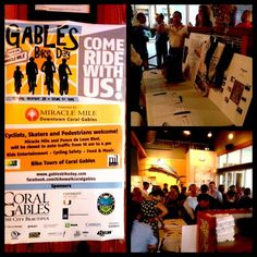 Great turnout at the #GablesBikeDay launch party this past 10/02 at #TarponBend, 65 Miracle Mile. Hope to see everyone out on October 28th for the big event, presented by Downtown Coral Gables & Miracle Mile! #bikeday #bike #happyhour #silentauction #businesscards #riding #cycling #launchparty #wine #vodka #noboundaries #coralgables #miraclemile