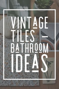 Vintage style tiles for recreation of the period vintage look. Victorian bathroom style classic and timeless tiles Ideal Bathrooms, Victorian Buildings, Victorian Bathroom, Vintage Tile, Terrazzo Flooring, Style Tile, Natural Texture, Bathroom Inspiration, Shades Of Green