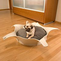 STARLET Felt - round dog bed