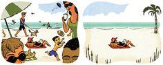 Adam McCauley Illustration | Beach
