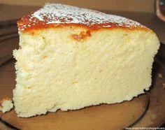 jeden z najlepszych serników jaki jadłam :) Mowa o serniku japońskim zn. Cookie Desserts, Just Desserts, Bakery Recipes, Dessert Recipes, Gourmet Cooking, Russian Recipes, Dessert For Dinner, Brownie Recipes, No Bake Cake