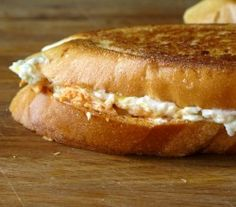 Buffalo Blue Grilled Cheese