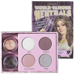 Mother's Day Gift Ideas: Benefit Cosmetics World Famous Neutrals - Sexiest Nudes Ever #sephora #mothersday