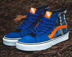 Vans Sk8-Hi - True Blue - Orange - Inca Vans Viola 7eef9b7b3ed