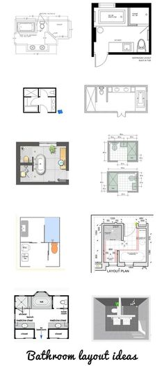 6x6 bathroom layout - Google Search | New house ...