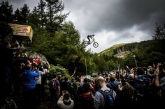 RedBull Hardline 2015 - Everyone wanted a piece of the action (3000×2001)