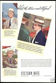 Flat Caps, also knows as Ivy caps and newsboy caps among other names became popular in the 1920's and remained popular through the 1930's.Everyone from young boys to working class men and casually dresses upper class men wore Ivy caps.