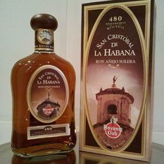 The San Cristobal de La Havana Añejo Solera, a rarity of Cuban rum industry very difficult to achieve due to limited production. It is excellent.