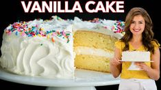 Creamy Shrimp Pasta Recipe (VIDEO) - NatashasKitchen.com Cookie Recipes, Dessert Recipes, Moist Vanilla Cake, Salmon Patties Recipe, Vanilla Buttercream Frosting, Cupcakes, Meatloaf Recipes, Pumpkin Bread, Food Cakes