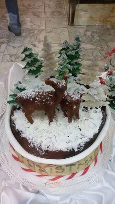 Cerbiatti e neve