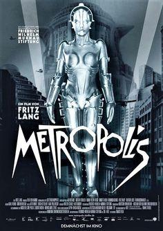 metropolis Metropolis Film, Metropolis Poster, Metropolis Fritz Lang, Fritz Lang Film, Terror Movies, Tv Movie, The Blues Brothers, Sci Fi Films, Classic Sci Fi