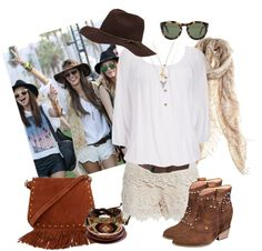 """Coachella Fashion - Alessandra Ambrosio"" by trinavokes on Polyvore"