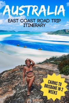 Planning a road trip along the East Coast of Australia? Check out this Cairns to Brisbane 2-week itinerary! Discover all the best places to visit and things to do if you're planning on spending 14 days doing a road trip from Cairns to Brisbane (or vice versa)! #australia #cairns #brisbane #eastcoast #roadtrip #itinerary #2weeks #traveltips
