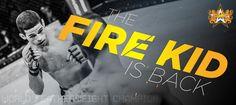 (Unused) Firekid Banner #BAMMA16 #MMA #MixedMartialArts #UFC #BAMMA