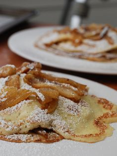 Caramelized Apple Crepes | recipe from Not Derby Pie
