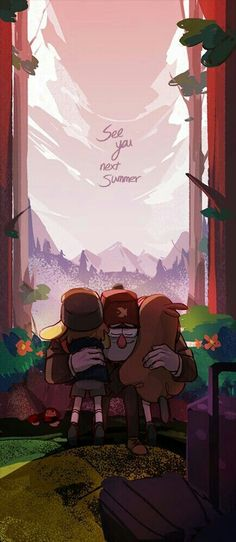Anyone else cry on the finale? Welp, back to rewatching every episode of Gravity Falls hoping a new season or show comes out even though it won't. *cries in emo corner while watching Gravity Falls* Dipper And Mabel, Mabel Pines, Monster Falls, Desenhos Gravity Falls, Gavity Falls, Gravity Falls Art, Gravity Falls Poster, Reverse Falls, Fall Wallpaper