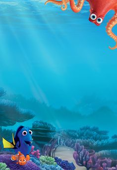 Finding Nemo wall mural Mickey Mouse Disney Pinterest