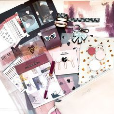 VB Pens & Planner Kits (@shopvillabeautifful) • Instagram photos and videos Vellum Paper, Staying Organized, Sticky Notes, Card Stock, Stationery, Pouch, Sticker, Clip Art, Kit
