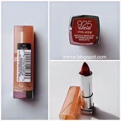 Lovely color <3 #lips #beauty | Maybelline Color Sensational Lipstick in Maple Kiss - Photo Credit: intrice.blogspot.com