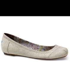 TOMS ballet flats. yes yes yes.