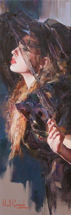 Oil Painting - Michael+and+Inessa+Garmash(M&I+Garmash)