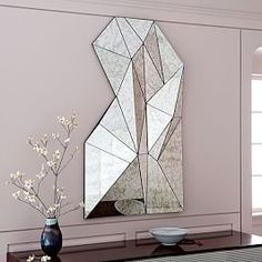 Overlapping Squares Mirror