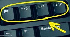 Sai a cosa servono i tasti sulla tastiera del computer? Computer Help, Best Computer, Computer Keyboard, Keyboard Shortcuts, Phone Hacks, Tips & Tricks, Microsoft Excel, Things To Know, Multimedia