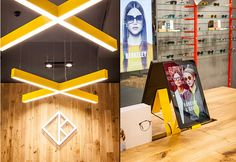 Kite opticians by Fourmation, London   UK eyewear store design