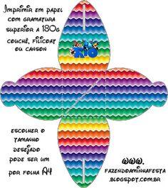 Río: cajas para imprimir gratis. | Ideas y material gratis para fiestas y celebraciones Oh My Fiesta!