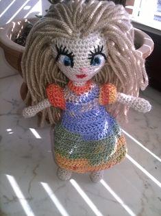 Amigurumi Doll, Crochet Hats, Dolls, Knitting Hats, Baby Dolls, Puppet, Doll, Baby, Girl Dolls
