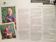 """Such a lovely surprise to be invited to share the joy of Kids in Harmony and I love the title the journo chose """"The Harmony of Life"""". Appreciation, Bring It On, Parenting, Joy, Invitations, My Love, Happy, Music, Kids"""