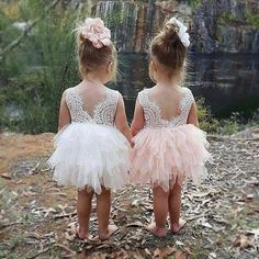 Miss Bei Lace Back Flower Girl Dress,Kids Cute Backless Dress Toddler Party Tulle Tutu Dresses for Baby Girls Dress ! Gowns For Girls, Little Girl Dresses, Girls Dresses, Flower Girl Dresses, Tutu Dresses, Lace Flower Girls, Toddler Dress, Baby Dress, Bff