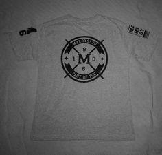 T-Shirt MALRYSSYO86! Costa - Cor:Cinza. #estilo #moda #modamasculina  #diferente #atitude #rua #sampa #arte #malryssyo86 #repost #like4like #streetwear #swag #tshirt