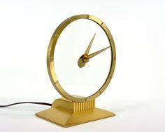 "vintage ""mystery clock"", $98"