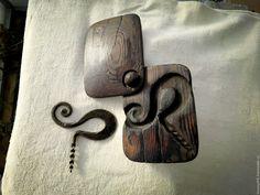 Купить кованый Штопор в деревянном футляре.штопоры.подарок мужчине мужу - черный, кованые изделия