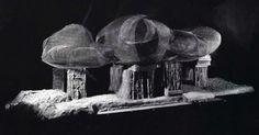 Endless House, Friderick Kiesler, 1958, Projekt