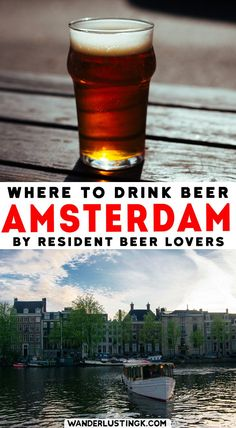 Read an insider's guide to beer in Amsterdam for foodies with the best breweries & places to drink in Amsterdam. #Amsterdam #Beer #travel #foodie