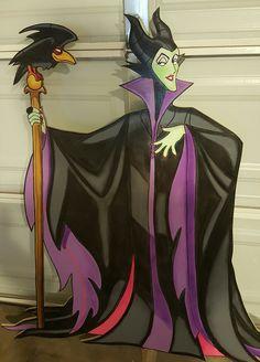 Maleficent Yard Sign