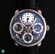 """Review: MB&F Legacy Machine Perpetual: Handson with analysis, commentary, specs and price"" via @watchville"