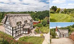 The perfect home for a golf fan: 16th-century thatched property with its own nine-hole