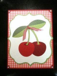 Cherry card. Preserves cartridge.